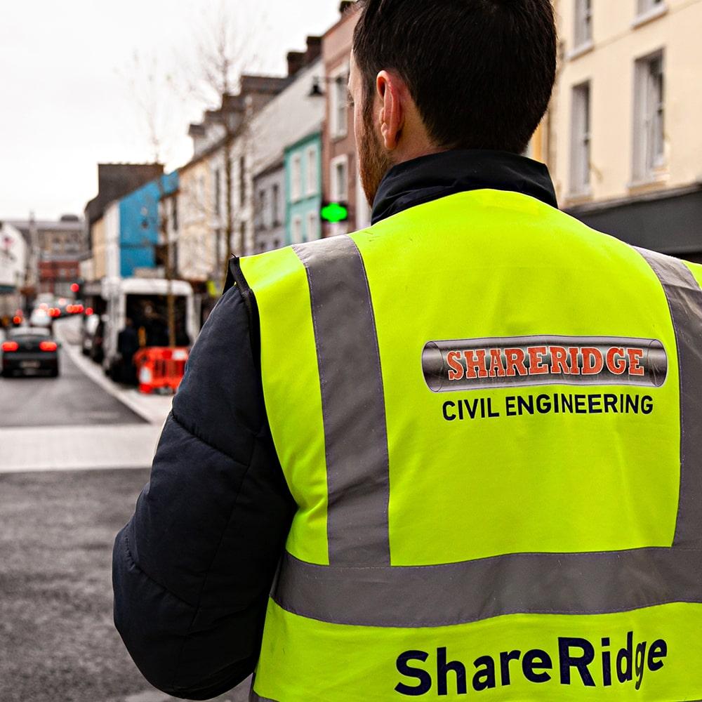 street enhancement works ireland